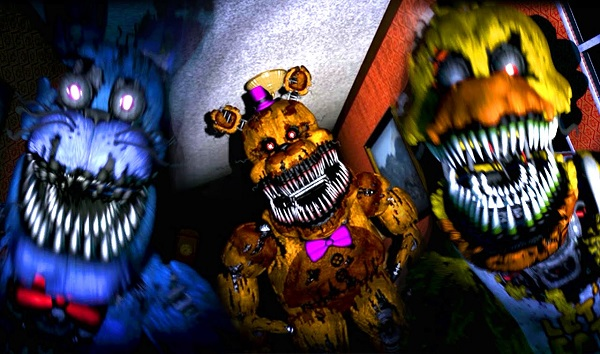 Fnaf 4 about the game