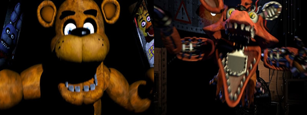 Five Nights at Freddy's 2 robotic creatures