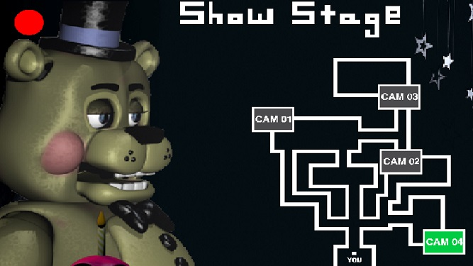Golden freddy cameras