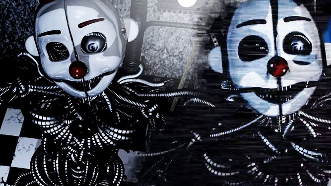sister location custom night twins animatronics