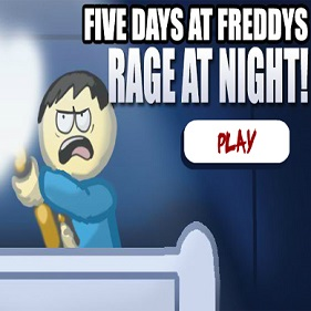Five Days at Freddys: Rage at Night!