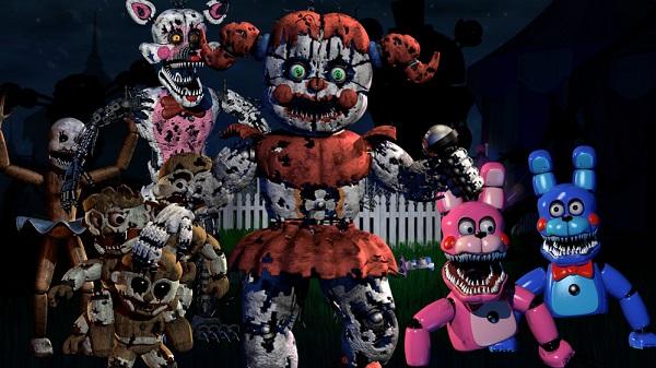 Babys Nightmare Circus Animatronics