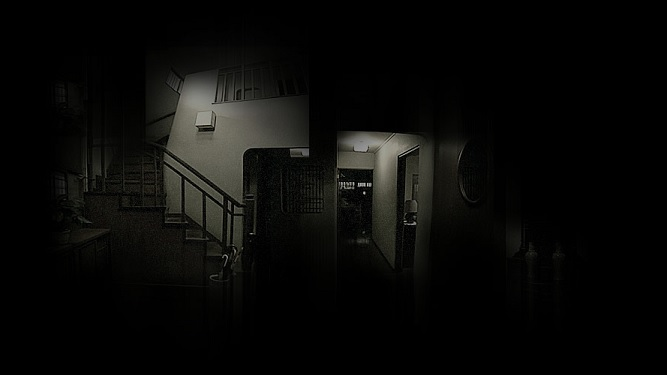 Cursed house and dark rooms
